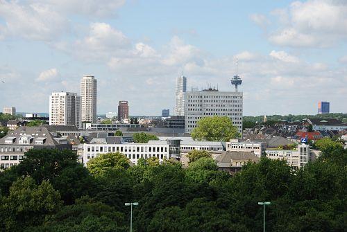 Blick aus der Gondel auf die Nordstadt