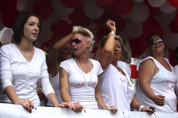 CSD-Parade in Köln  2011 (Teil 1)