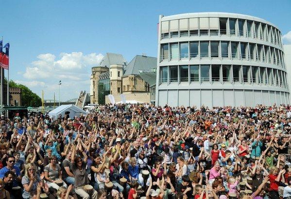 Sommer Köln 2011