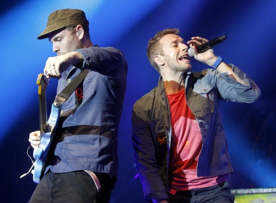 Coldplay im E-Werk (02.11.2011)