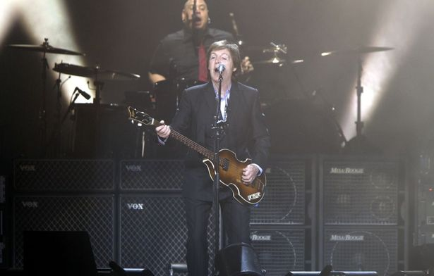 Paul McCartney in Köln
