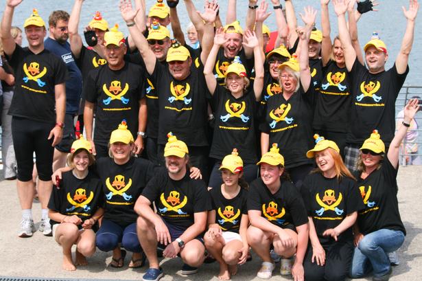 Drachenbootfestival am Fühlinger See (23.06.2012)