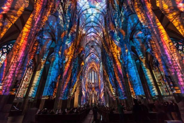 lux eucharistica im Kölner Dom