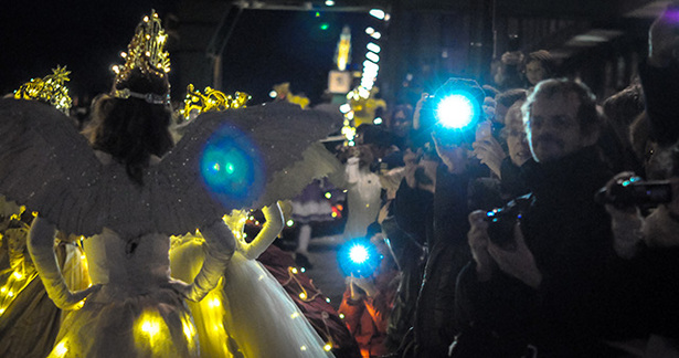 Kölner Christmas Licht-Parade 2013