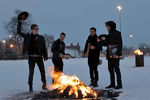 "Fall Out Boy stellt sein sechstes Album ""Save Rock And Roll"" live in D"