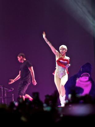 Miley Cyrus Bangerz Tour Köln