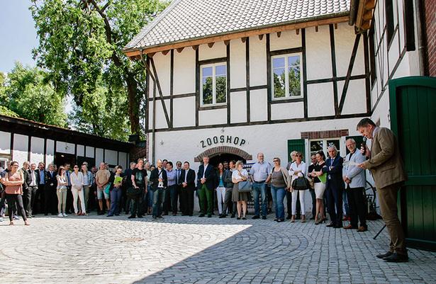 Kölner Zoo: Eröffnung des Bauernhofs