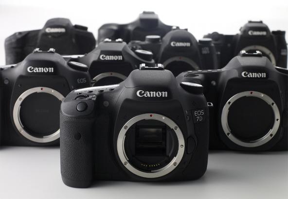 <h5>Die Canon EOS 7D - hier soll eine Nachfolgerin in den Startlöchern stehen.</h5>