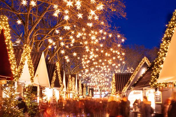 Weihnachtsshopping in der City