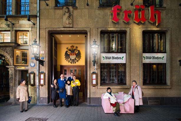 Köln möbliert / Furnishing Cologne