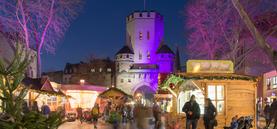Adventsmarkt auf dem Chlodwigplatz 2015