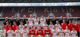 1. FC Köln, Mannschaftsfoto 2016/2017; Spieler, Trainer, Betreuer
