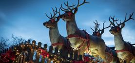 Weihnachtsmarkt Nikolausdorf am Rudolfplatz 2016
