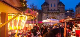 Weihnachtsmarkt am Clodwigplatz 2016