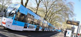 NetCologne-Bahnen touren durch Köln