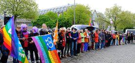 Demonstrationen gegen den AfD-Parteitag am 22.04.17