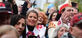 Mir all sinn Kölle - Karnevalisten protestieren gegen die AfD