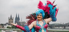CSD-Parade in Köln 2017, es geht los!