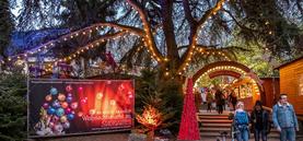Weihnachtsmarkt im Stadtgarten 2017