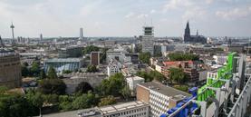 Köln aufs Dach gestiegen: Domstadtblick vom Hochhaus