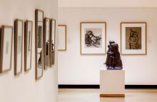 Blick in die Ausstellungsräume im 4. OG der Neumarkt-Passage Foto: © Käthe Kollwitz Museum Köln, ccfranken
