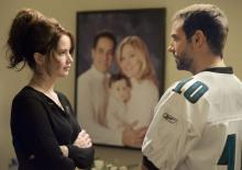 Tiffany (Jennifer Lawrence) und Pat (Bradley Cooper) im Zwiegespräch. (Foto: Senator Entertainment AG)