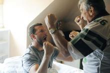 Pat (Bradley Cooper) und sein Vater Pat Sr. (Robert De Niro). (Foto: Senator Entertainment AG)