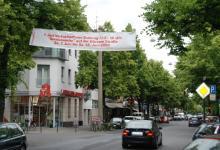 """""""Servicewoche"""" auf der Dürener Straße (Foto: Fabian Radix)"""