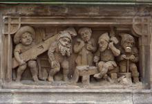 Heinzelmännchen-Darstellung: Der Brunnen existiert seit 110 Jahren (Foto: bilderbuch-koeln.de)