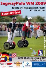 Segway-Polo-WM in Köln: Auch Apple-Mitbegründer Steve Wozniak wird wohl dabei sein (Foto: Veranstalter)