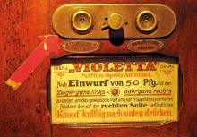 Parfüm-Spritz-Automat im Klimperkasten (Foto: Britta Schmitz)