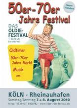 Das 50er-70er Jahre Festival am 7. und 8. August im Rheinauhafen.
