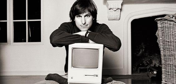 Steve Jobs, 1984 © Norman Seeff