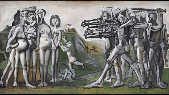 Pablo Picasso Massaker in Korea, 1951 Musée national Picasso-Paris, © Succession Picasso/VG Bild-Kunst, Bonn 2021 Foto: bpk/ RMN-Grand Palais / Mathieu Rabeau