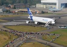 Airbus A380 Der Star des Luft- und Raumfahrttages (Bild: DLR)