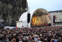 Am 27. und 28. Mai 2011 feierten BAP auf dem Roncalliplatz ihr 35-jähriges Jubiläum. (Foto: Burkhard Breuer)