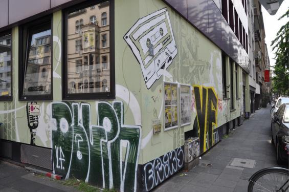 Gefunden auf der Richard Wagner Straße.