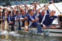 Ausdauer und Disziplin sind besonders wichtig im Drachenboot (Foto:privat)