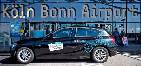 Mit DriveNow zum Flughafen Köln/Bonn | koeln.de