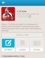 Foto: Screenshot Foursquare
