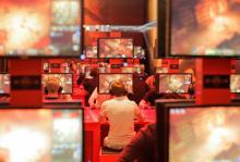 Die Gamescom ist wie die Spiele selbst: laut, bunt und schrill (Foto: Koelnmesse)