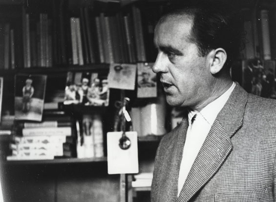 Heinz Held: Porträt Heinrich Böll, 1953 Fotografie © Museum Ludwig, Köln