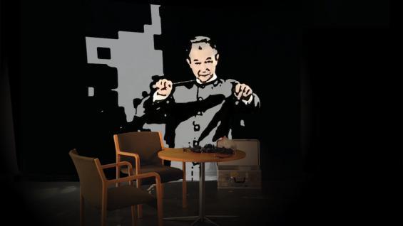 Boaz Kaizman Josef Tal – Atelier aus: Grünanlage, 2021 Videoinstallation Museum Ludwig, Köln 3.9.2021 – 9.1.2022 © Boaz Kaizman