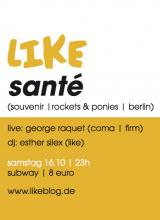 Der Flyer zur Party. (Quelle: http://likeblog.de)