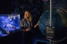 Meeresforscherin Prof. Dr. Antje Boetius Sie kennt sich in den Tiefen der Meere und Ozeane aus. (Foto: Ilja Hendel / Wissenschaft im Dialog)