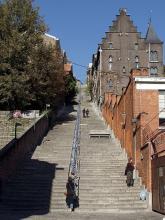 "Die Treppe  zur ""Montagne de Bueren"". (© Raimond Spekking via Wikimedia Commons)"