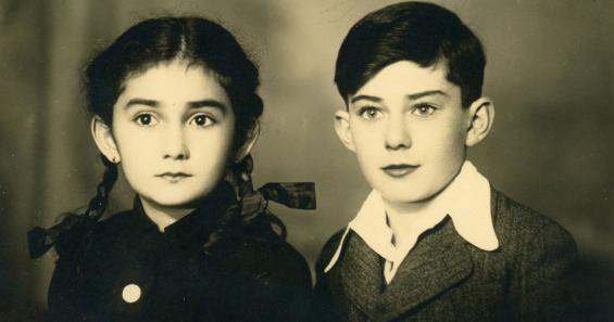 Ruth und Robert Büchler. Ruth überlebte Auschwitz-Birkenau nicht. © Archiv Alwin Meyer