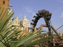Looping auf der Black Mamba (Foto: Phantasialand)
