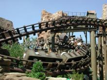 Die Achterbahn Colorado Adventure (Foto: Phantasialand)