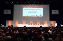 Nur knapp über 1.000 Mitglieder kamen in die Lanxess-Arena